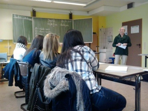 Sprachlernklasse Elisabeth-Selbert-Schule